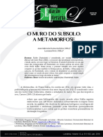 O Muro do Subsolo A Metamorfose.pdf
