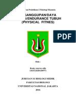 Laporan Praktikum 1 Fisiologi Manusia
