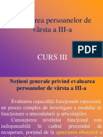 Ki.varst. III Curs III