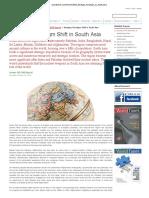 Strategic Paradigm Shift in South Asia