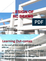 Beam Design & Detailing (Simply Supported)