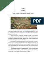 laporan geomorfo