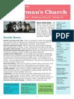 st germans newsletter - 24 sept 2017