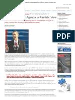 Obama's Nuclear Agenda, A Realistic View
