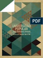 Universidad Popular Programación