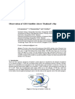 Full Paper Observation of GEO Satellite Above Thailand Modified Ed3