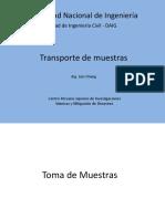 2. Transporte de Muestras