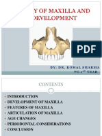 Anatomy of Maxilla and Its Development_ORIGINAL
