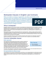 Tokyo 1 262689 v3 Client Briefing Boilerplate Clauses in English Law Contracts e 6015372