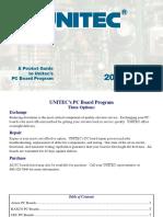 Unitec PC Board Catalog