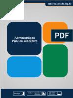 Administração Pública Descritiva - Curso Completo