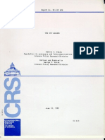Report on UFOs - Congressional Research Service (1983). By Marcia Smith