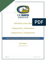 Uefa B Assignment