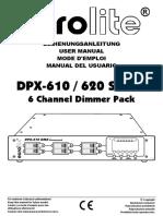 Eurolite Dimmer DPX-610 620 OM