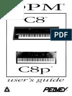 Peavey DPM-C8 Owners Manual