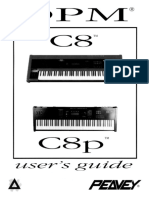 Peavey DPM-C8 Owners Manual