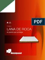 PANEL SANDWICH LANA ROCA