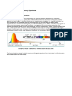 Bio Frequency Spectrum