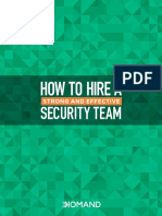 Hire Strong Effective Security Team