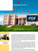 Flair 2010 - TAPMI's Summer Placement Brochure