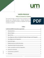 Condicionado Union Premium