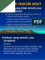 02 Bentuk-Wujud Hukum Adat.ppt