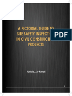 A Pictorial Guide to Site Safety Inspection in Civil Construction Projects