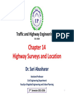 01 Chapter 14 - Highway Surveys and Location