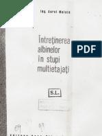 Intretinerea Albinelor in Stupi Multietajati PDF