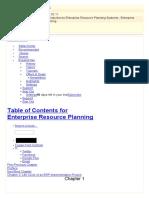 Enterprise Resource Planning Ch006