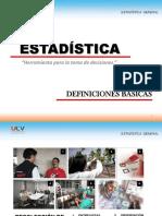 Estadística (Def Básicas)