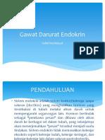 1. Gawat Darurat Endokrin