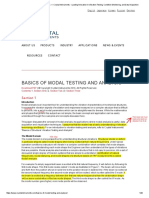 Basics of Modal Testing and Analysis 2