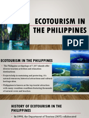 Week 8: Ecotourism in the Philippines | Tourism | Natural
