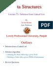 9. Linked List (Deletion)
