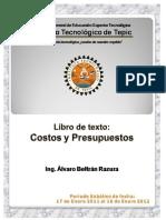 BELTRAN RAZURA - Costos y Presupuestos, Cap 1 y 2