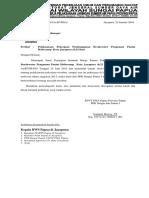 Surat Teguran Kontraktor - TUWERA