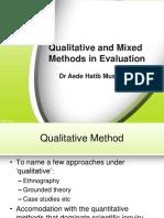 Qualitative & Mixed Methods in Evaluation-Ahm