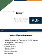 2. SAS System Component