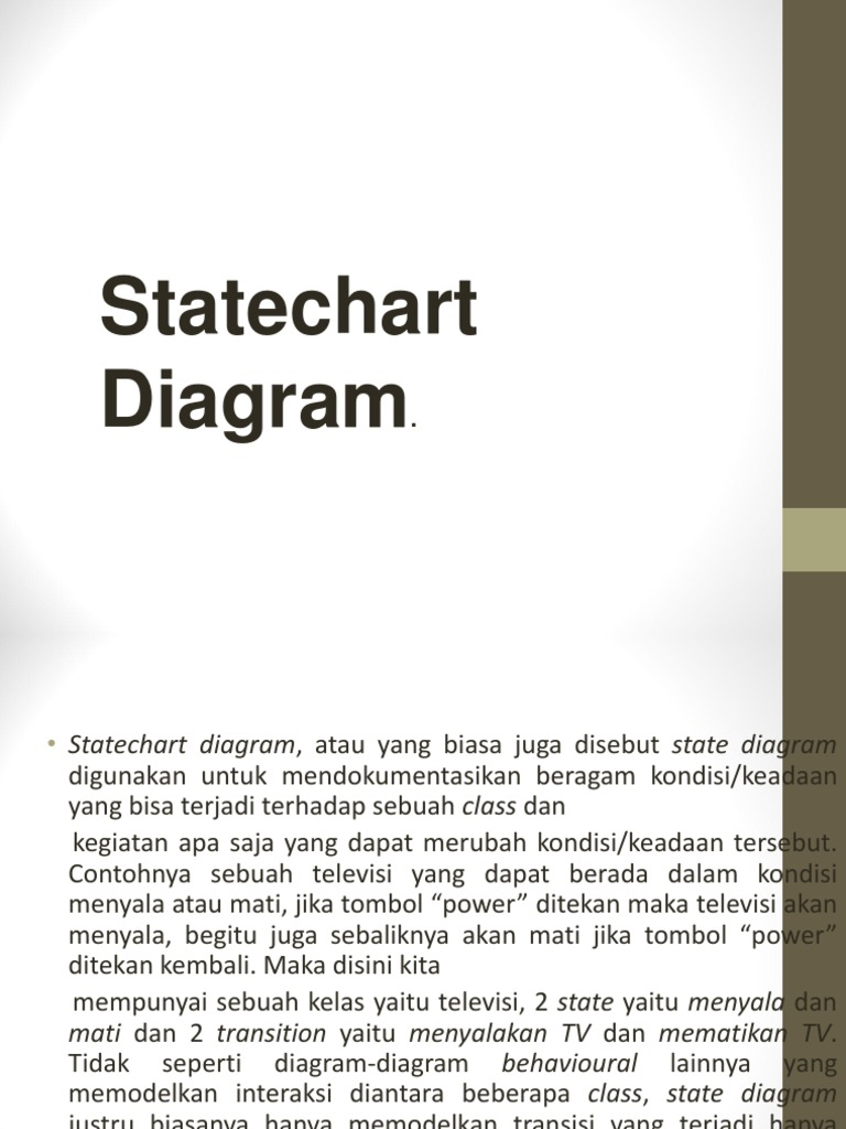 State chart diagram ccuart Choice Image