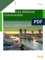 The Case for BREEAM Communities