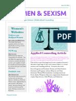 women sexism handout pdf