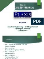 Modul Pelatihan Software Plaxis