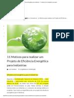 Eficiência Energética para Indústrias - 11 motivos para realização um projeto.pdf