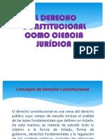 Derecho Constitucional General - primero