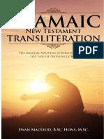 Transliteracion Del Siriaco Nt