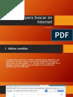 Trucos Para Buscar en Internet
