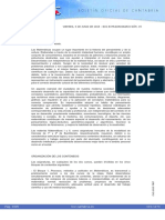 MAT I II Curriculumn Cantabria LOMCE
