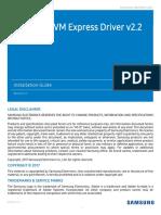 Samsung NVMeDriver InstallationGuide Rev22