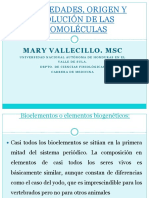 02 Propiedades Origen y Evolucion de Las Biomoleculas